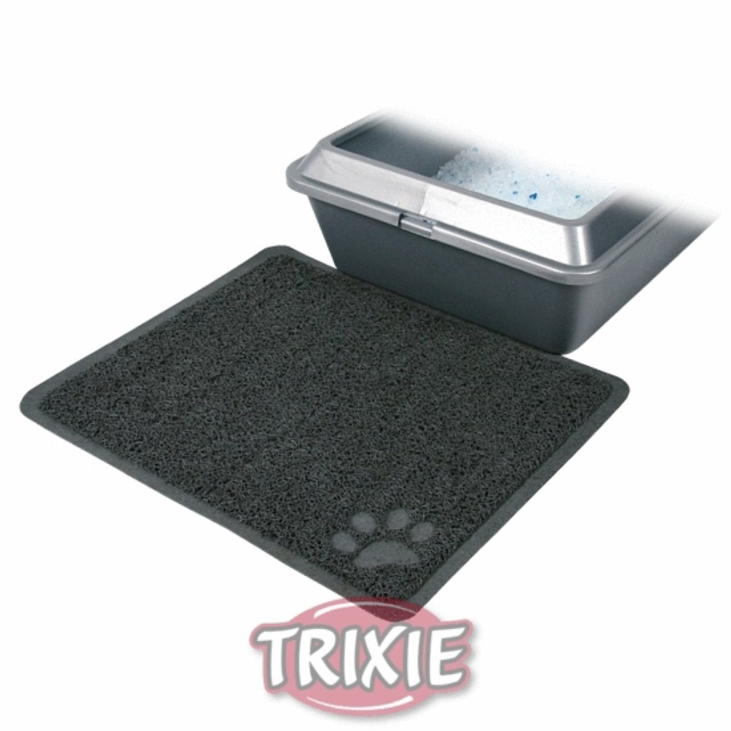 Scented cat litter mat
