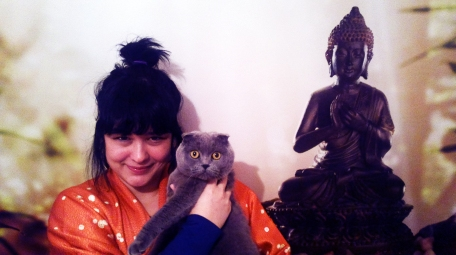 Misha & ben, reiki odamızda :)
