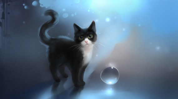 black-cat-drawn-art-wallpaper-1920x1080